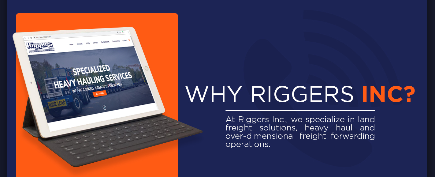 Land Freight Forwarding Services | Riggers Inc